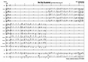 bye-bye-blackbird-jones-op-partitur