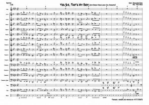 yes-sir-jones-partitur